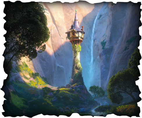 Mission Your Goal Is To Build The Tallest Free Standing Paper Tower For Rapunzel And Have A Yellow Hair Braid Hanging From It On One Side